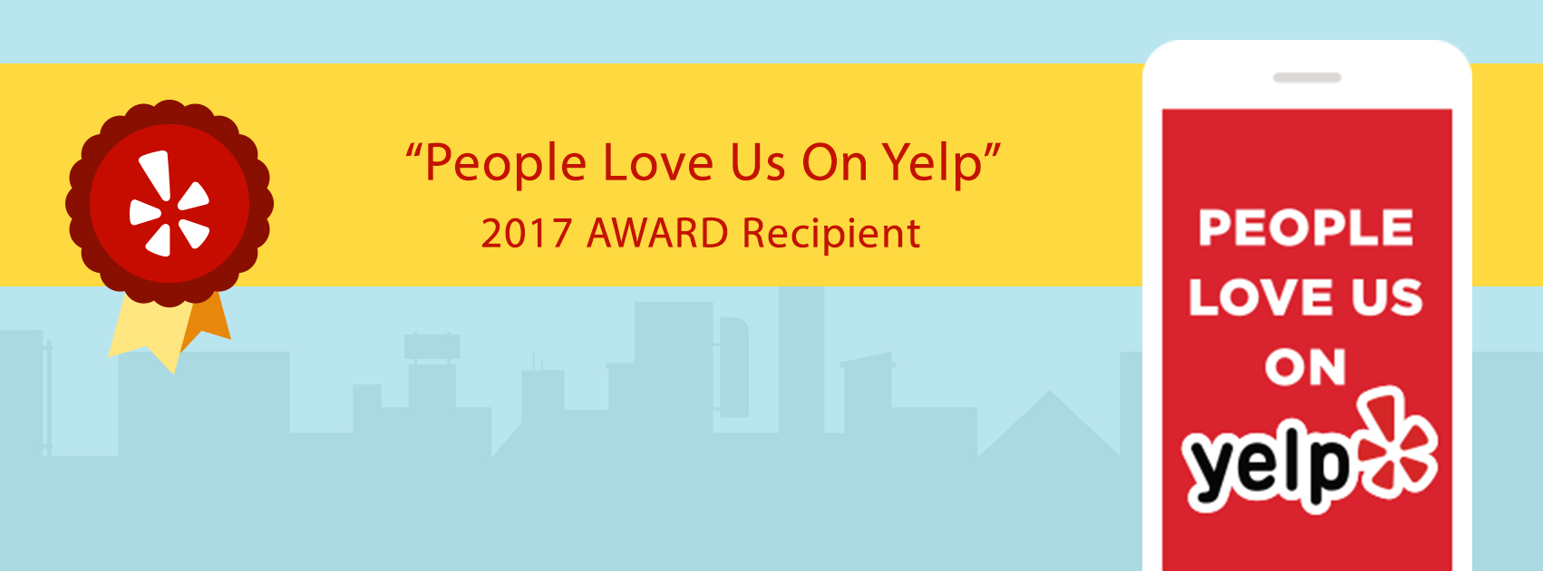 2017 award recipient from Yelp